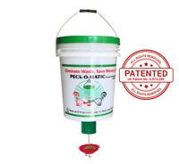 Automatic Chicken Feeder- One Pail/Bucket with Peckomatic Demand Bird Feeder Kit