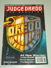 2000AD MEGAZINE #1 VOL 2 JUDGE DREDD*