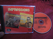 CD Keep on Pushing/People Get Ready THE IMPRESSIONS (Kent,1996) Curtis Mayfield