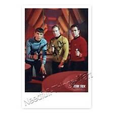 Star Trek mit James Doohan, Leonard Nimoy, William Shatner -  Autogrammfoto 
