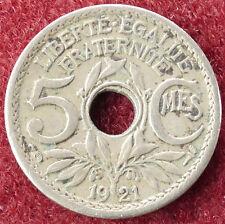 France 5 Centimes 1921 (D3004)