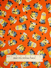 Despicable Me One In A Minion Toss Cotton Fabric Quilting Treasures 1.6 Yards