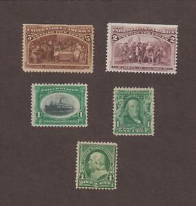 US,234,1893,COLUMBIAN EXPO PLUS MORE COLLECTION,MINT