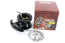 Racing Steering Wheel Black Quick Release Hub Kit Adapter Body Removable Kit
