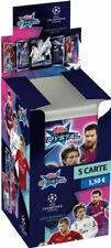Topps Crystal Cards carte Champion League trasparenti 8 Bustine Ronaldo omaggio