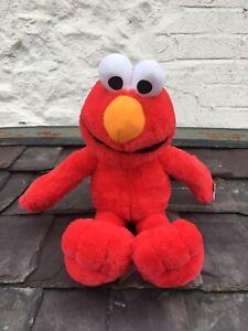 Elmo Toy Teddy Plush Red Sesame Street Sambro