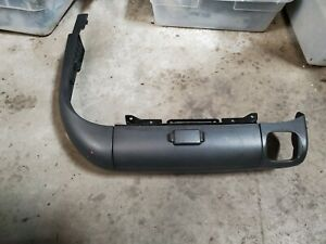 99-00-01-02-2006 MERCEDES-BENZ W220 S430 S500 RIGHT FRONT SEAT LOWER TRIM BLACK