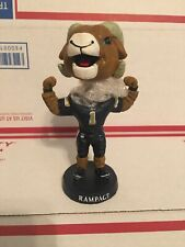 """Los Angeles Rams Rampage Mascot Bobblehead NFL 5.5"""" Tall Rare Goff Gurley"""
