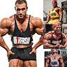 MENS PLAIN GYM VEST Y BACK BODYBUILDING MUSCLE STRINGER RACERBACK WORKOUT TOP