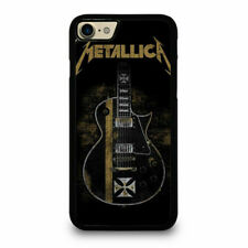 BEST METALLICA IRON CROSS GUITAR Fit For iPhone Samsung Print On Cover Case