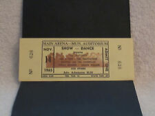 Rare 1965 4 Tops-Temptation-Martha & The Vandellas Others Full Concert Ticket!