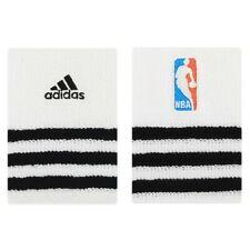 Adidas NBA Wristbands White One Size Fits Men Adidas Performance OSFM