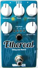 Used Wampler Ethereal Reverb and Delay Guitar Effects Pedal!