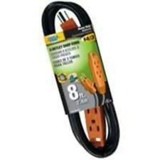 Power Zone Or890708 Extension Cord, 8'