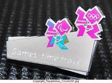OLYMPIC PINS BADGE 2012 LONDON ENGLAND UK INTERNAL IOC PIN GAMES-TIME-TRAVEL