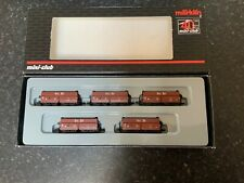 "Marklin spur z scale/gauge. ""Ore Transport"" Freight Car Set. New."