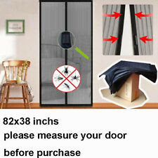 Hands Free Magic Mesh Screen Net Door with magnets Anti Mosquito Bug Curtain USA