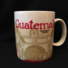 Starbucks Original 2015 Guatemala V1 Icon Series Mug Cup HTF