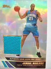 2004 TOPPS BASKETBALL GAME JERSEY JAMAAL MAGLOIRE  HORNETS JE-JMA B54
