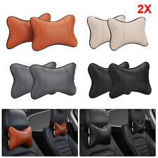 2PCS Car Seat Head Neck Rest Relieve Cushion Chair Support Pillow Headrest