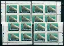 Weeda Canada 1171 VF MNH M/S of PBs, 44c Atlantic Walrus Mammal issue CV $40