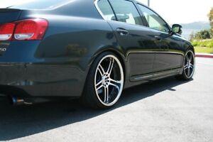 MEGAN LOWERING SPRINGS For Lexus GS300 GS350 GS430 2006-2011 RWD