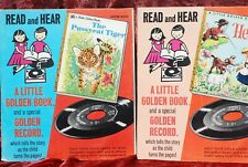Collection of Children's Books with Records. 8 Total
