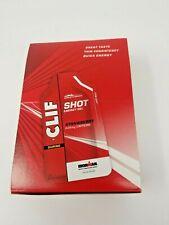 Clif Shot Energy Gel Strawberry + Caffeine 24pack 1.20oz Date 12/20 (E04)