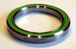 Trek Madone headset bearing   OD:53xID:40xH:7xA:45°   ACB537S