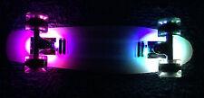 """Plastic Cruiser LED Light Board 22"""" Penny Style Skateboard w LED lightup Wheels"""
