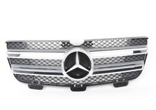 Nuovo Originale Mercedes-Benz Classe Gl W164 Anteriore Griglia Argento Cromato