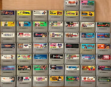 Wholesale Lot of 50 Super Famicom Games SFC Japan Surface Shipping Dragon Ball