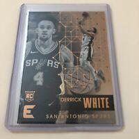 2017-18 Panini Essentials Derrick White RC Rookie Card #103 San Antonio Spurs
