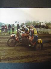 Photo EML Yamaha 1983 #1 Bolhalder (SUI) / Busser (SUI) GP Zijspan Lochem