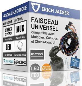 FAISCEAU ÉLECTRIQUE 7-broches pour attelage PEUGEOT 3008 de 2009