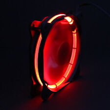 Sphere 120mm LED Ring Gehäuse Lüfter - 1200 rpm - Modding Case Fan - Rot, Red