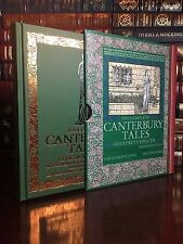 Complete Canterbury Tales by Geoffrey Chaucer New Illustrated Deluxe Cloth Bound