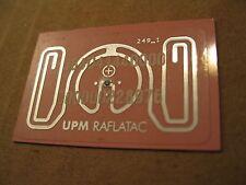 UPM RAFLATAC RFID Tag Antenna Inlays, Code 249_1, 12pc lot