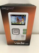 Creative Vado HD 2nd Generation 4 GB White Pocket Video Camcorder VF0584
