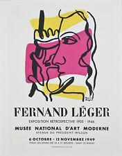 Collection of (3) Fernand Leger Lithographs from Fernand Mourlot Book