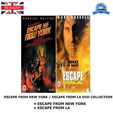 ESCAPE FROM NEW YORK - ESCAPE FROM LA - Kurt Russell New Sealed UK Region 2 DVD