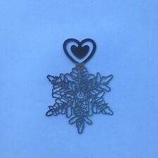Snowflake Bookmark | Clip Bookmark | Lucky Bookmark with Card