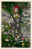 Cartolina di Fobello, costume tradizionale - Vercelli