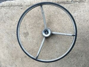 1961-66 ford f100 steering wheel f250 pickup truck horn button