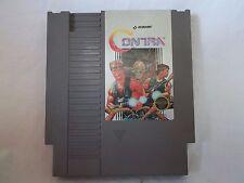 Contra Nintendo Entertainment System Game 1988 Original Nes Cartridge Works