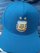 Men's Adidas AFA Soccer H90 Cap, Argentina Blue Silver Official Product OSFM Hat