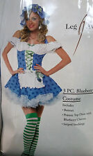 Leg Avenue - Blueberry Girl Costume - adult womens - 3PC