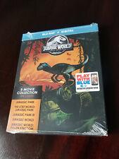 Jurassic World 5-Movie Collection Blu Ray Steelbook + Digital