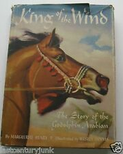 King Of The Wind HC/DJ 1948 1st U.K.  Printing