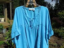 Womens Chicos Shirt Top Blouse~Sz 3, L 14/16~Rayon~Excellent
